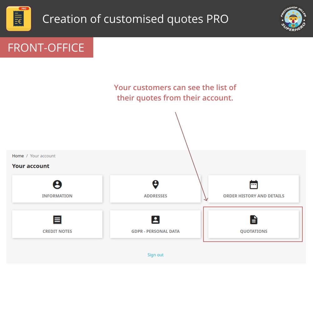 module - Расчет цены - Creation of customised quotes PRO - 3