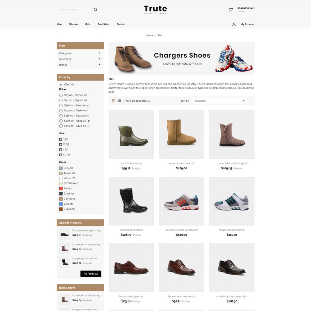theme - Fashion & Shoes - Trute - Shoes Store - 3