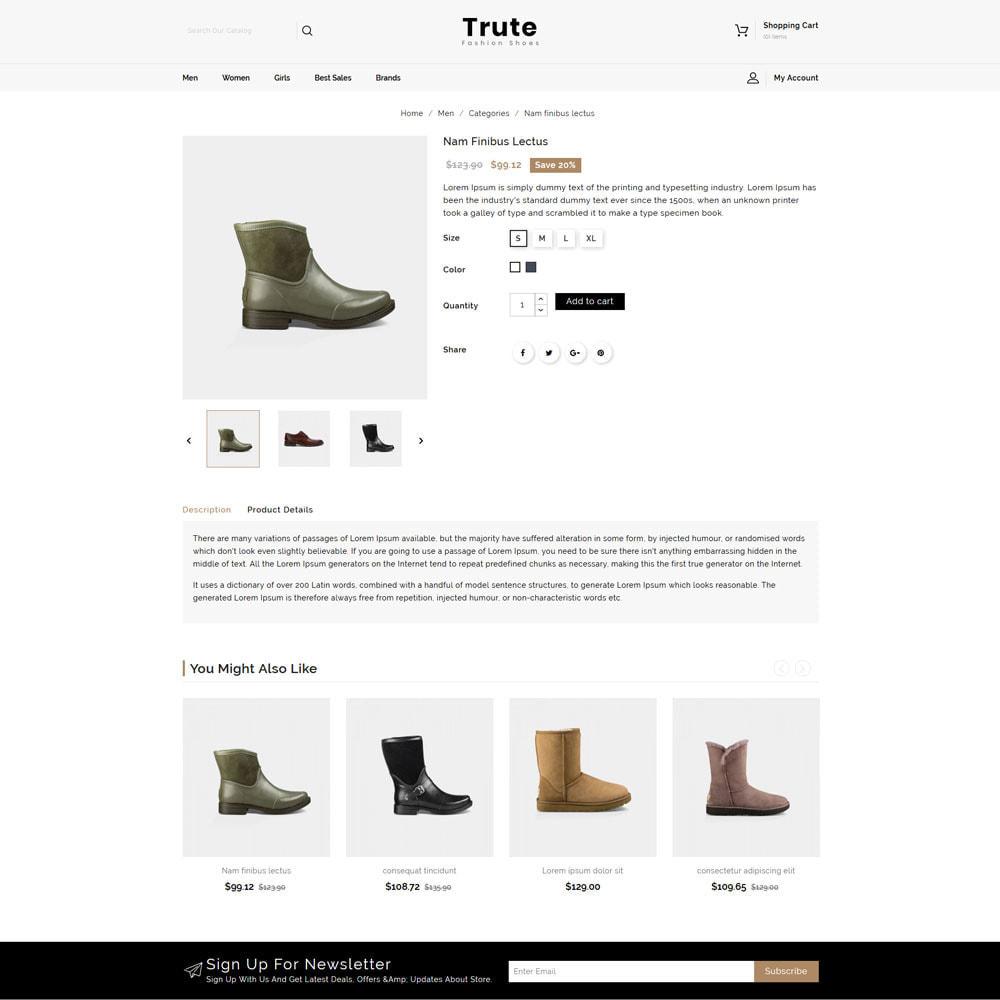 theme - Fashion & Shoes - Trute - Shoes Store - 4