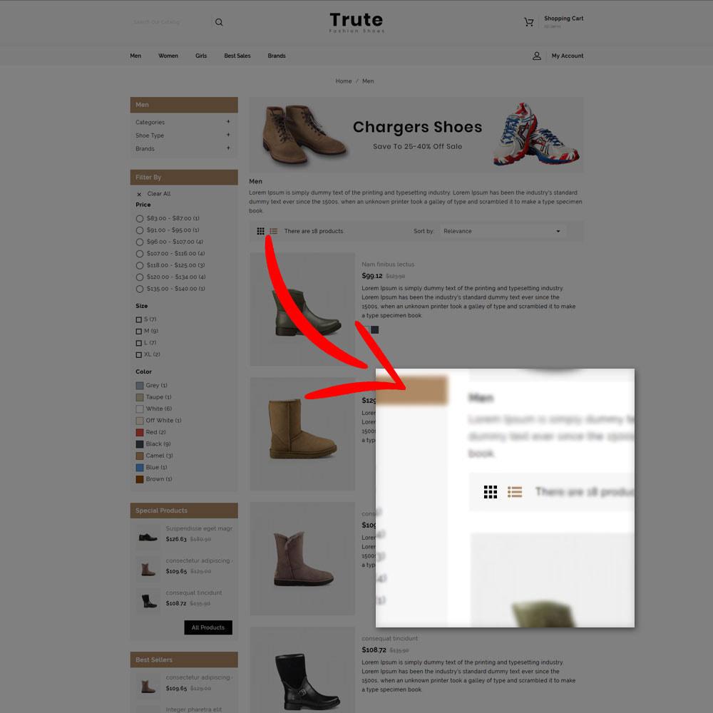 theme - Fashion & Shoes - Trute - Shoes Store - 7