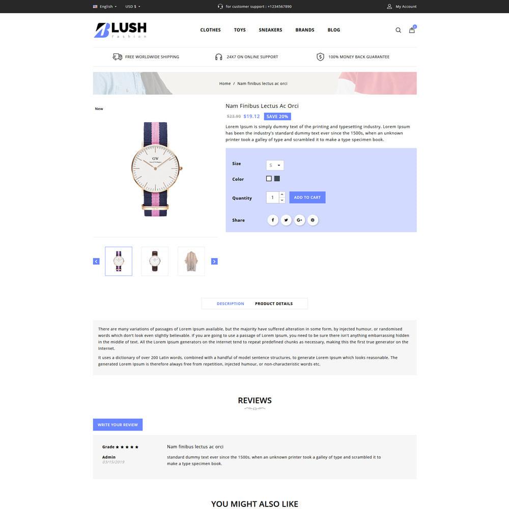 theme - Fashion & Shoes - Blush - Fashion Store - 4