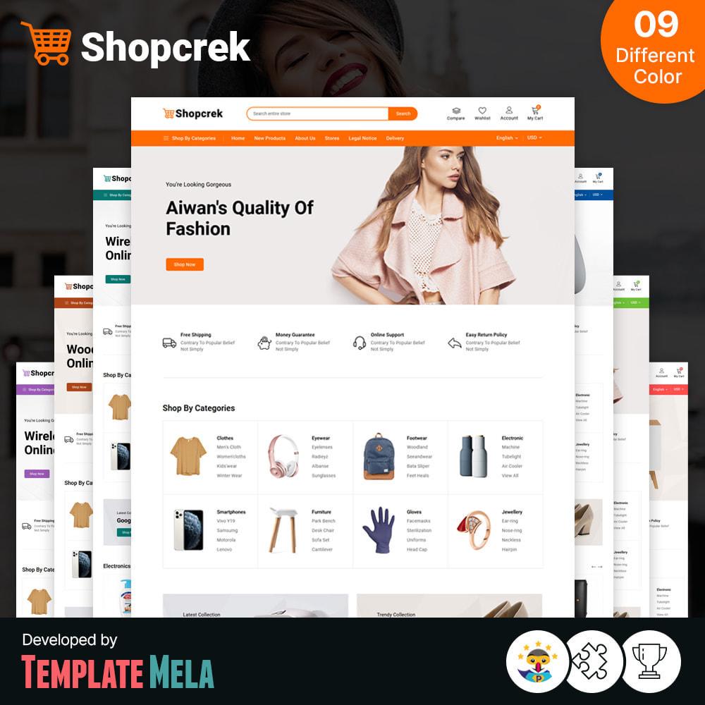 theme - Electronics & Computers - Shopcrek Mega Store - 1