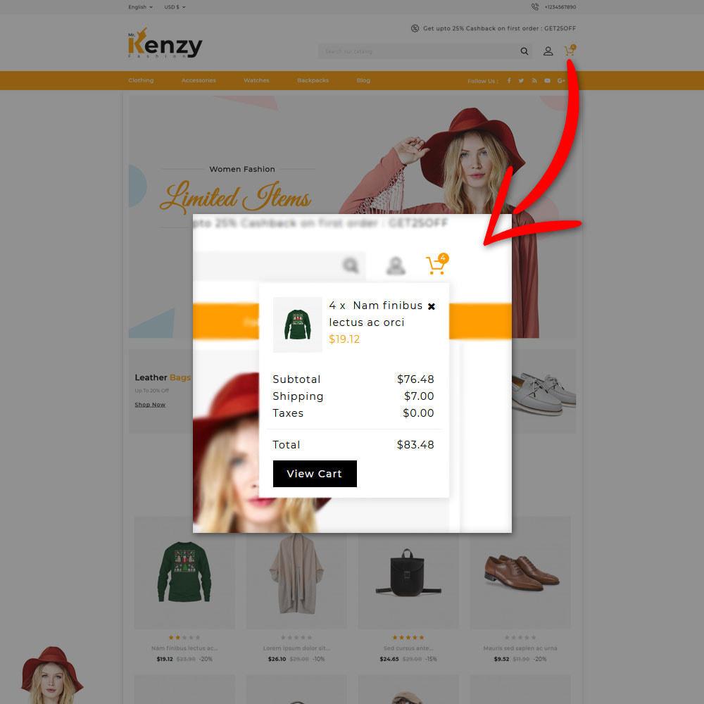 theme - Fashion & Shoes - Kenzy - Fashion Shop - 6