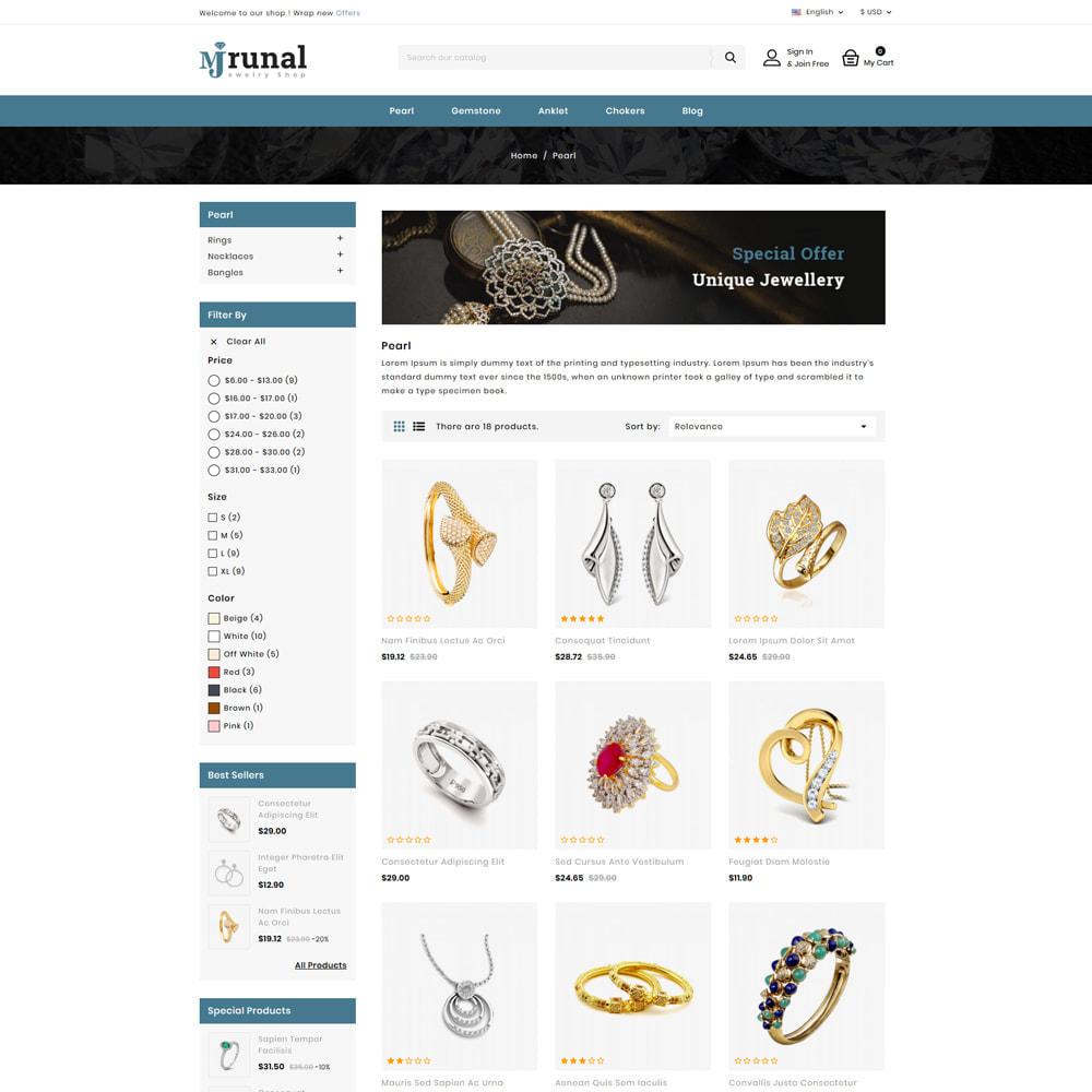 theme - Jewelry & Accessories - Mrunal - Jewellery Shop - 3