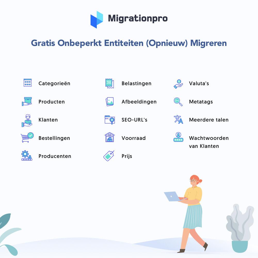 module - Migratie & Backup - OpenCart naar PrestaShop migratie tool - 2
