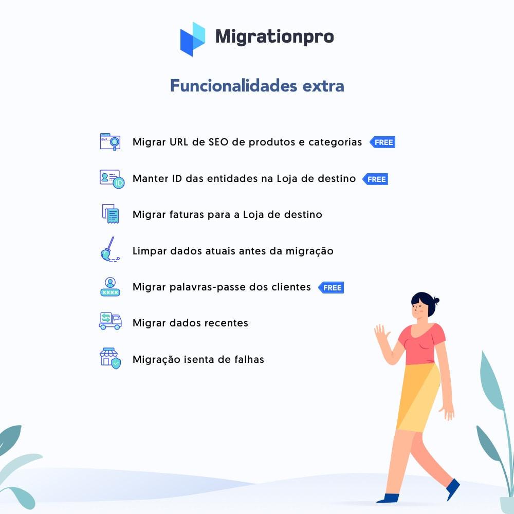 module - Migração de Dados & Registro - Ferramenta de Migração de OpenCart para PrestaShop - 5