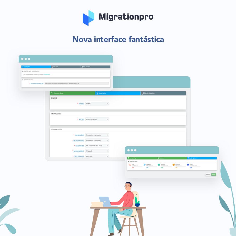 module - Migração de Dados & Registro - Ferramenta de Migração de OpenCart para PrestaShop - 6