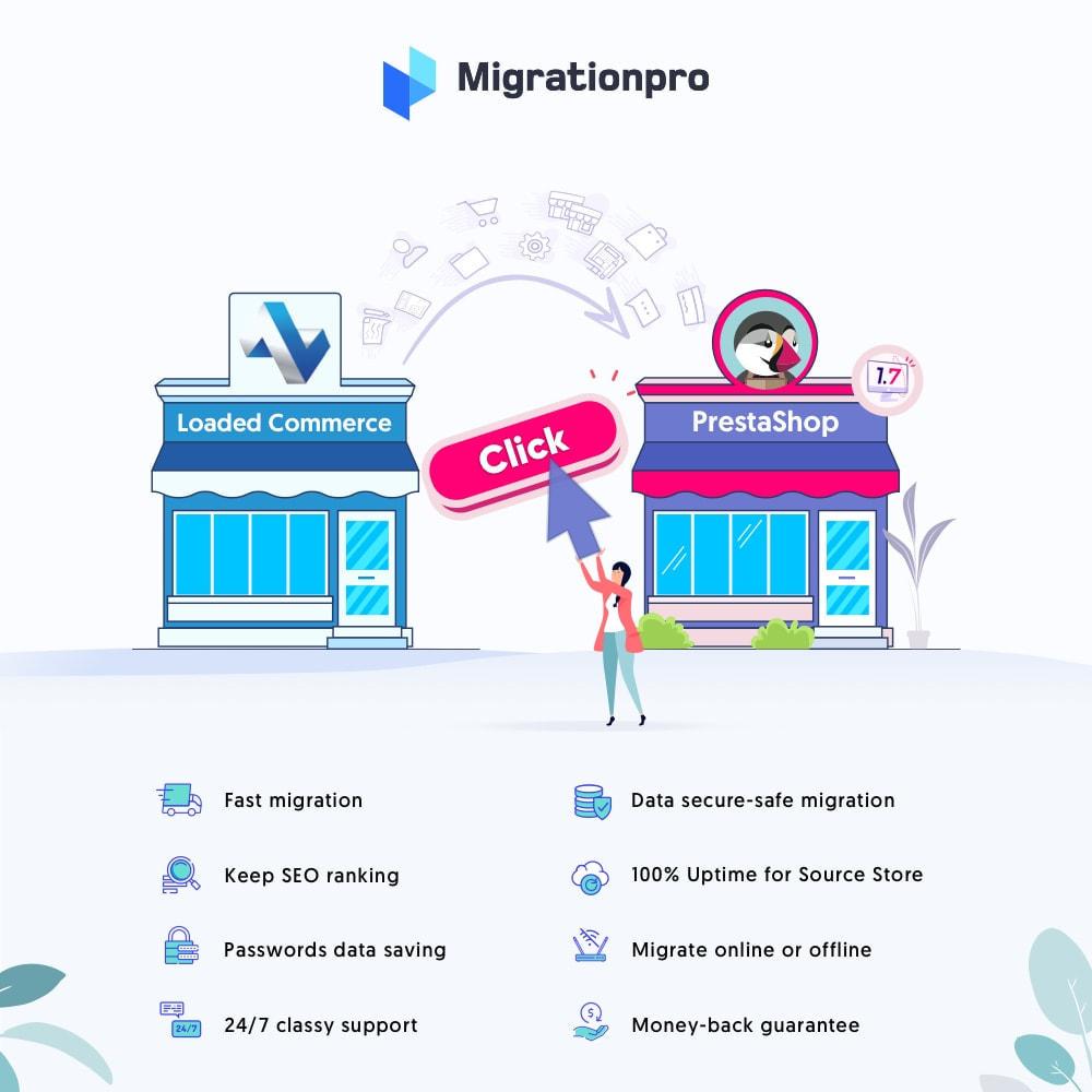 module - Data Migration & Backup - MigrationPro: Loaded Commerce to PrestaShop Migration - 1