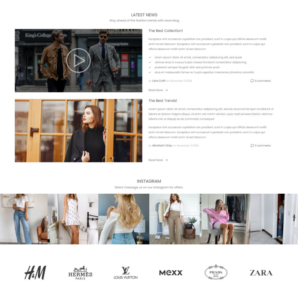 theme - Mode & Chaussures - Fashion House - Clothes & Shoes, Jewelry & Watch, Bags - 4