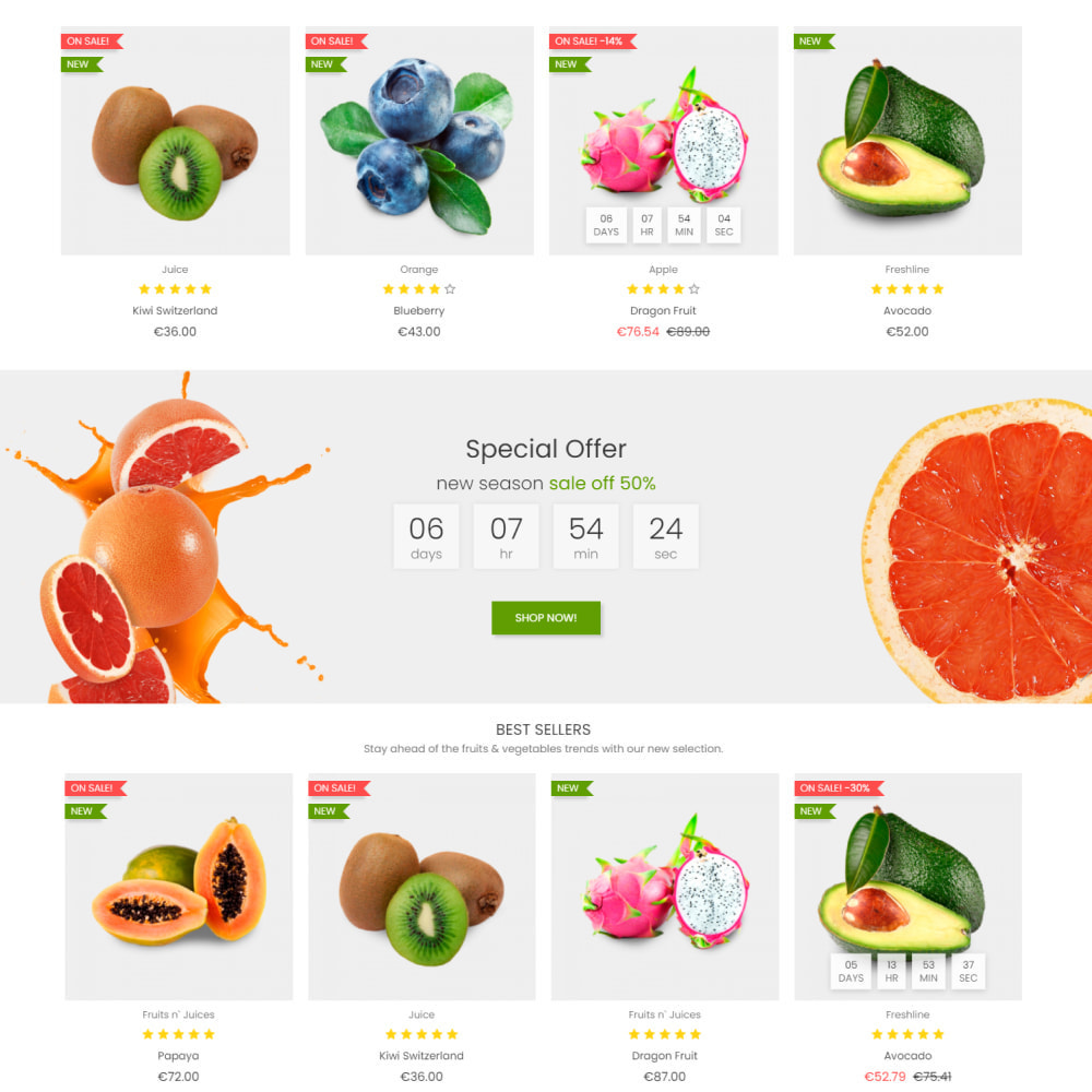 theme - Food & Restaurant - Food & Restaurant - Supermarket Organic, Wine, Coffe - 3