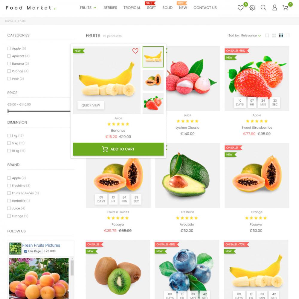 theme - Food & Restaurant - Food & Restaurant - Supermarket Organic, Wine, Coffe - 5