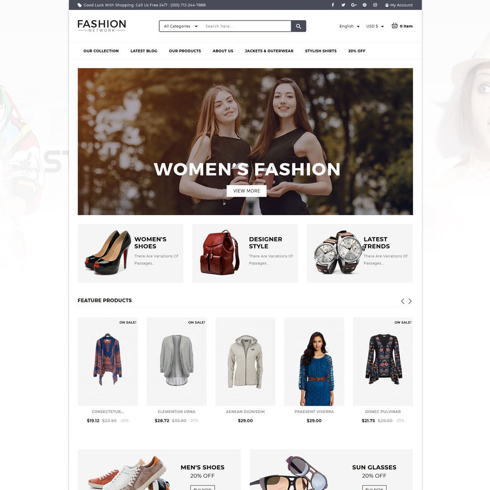 theme - Fashion & Shoes - FashionNetwork - The fashion store - 3