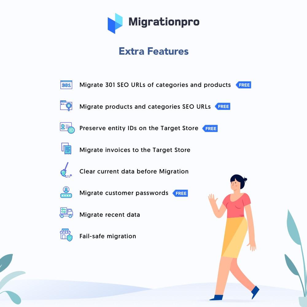 module - Migration de Données & Sauvegarde - MigrationPro: AbanteCart to PrestaShop Migration tool - 5