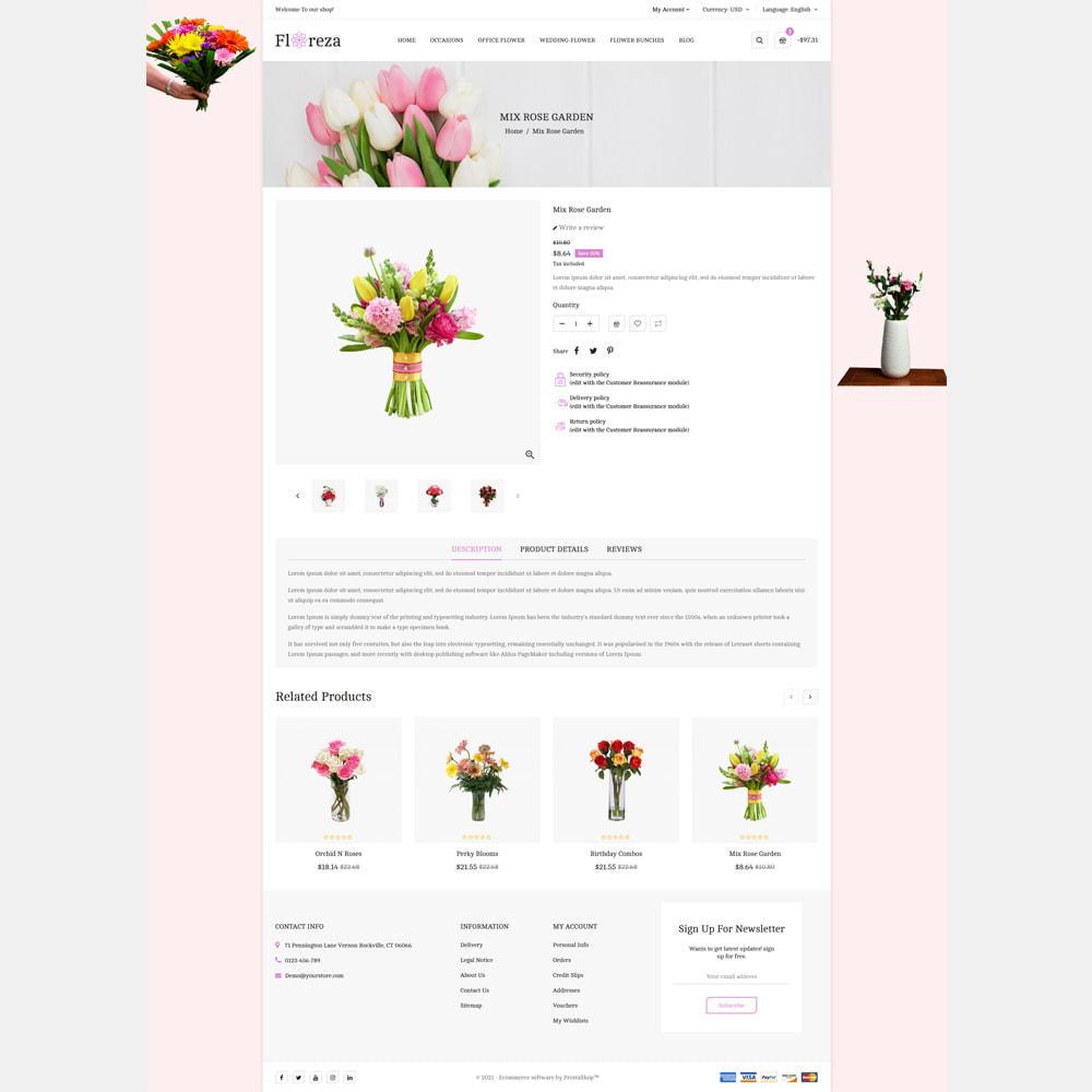 theme - Gifts, Flowers & Celebrations - Floreza Flower Store - 3