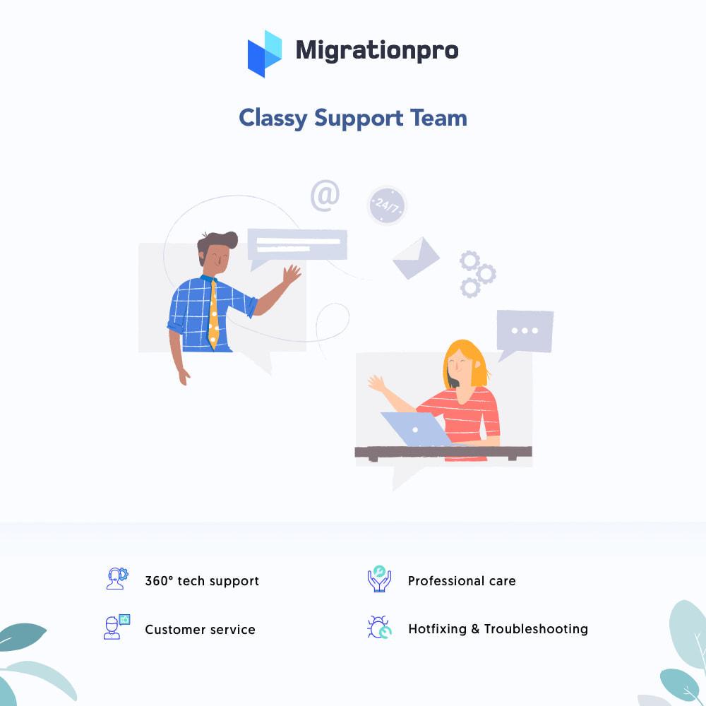 module - Data migration & Backup - MigrationPro: MijoShop to PrestaShop Migration Tool - 8