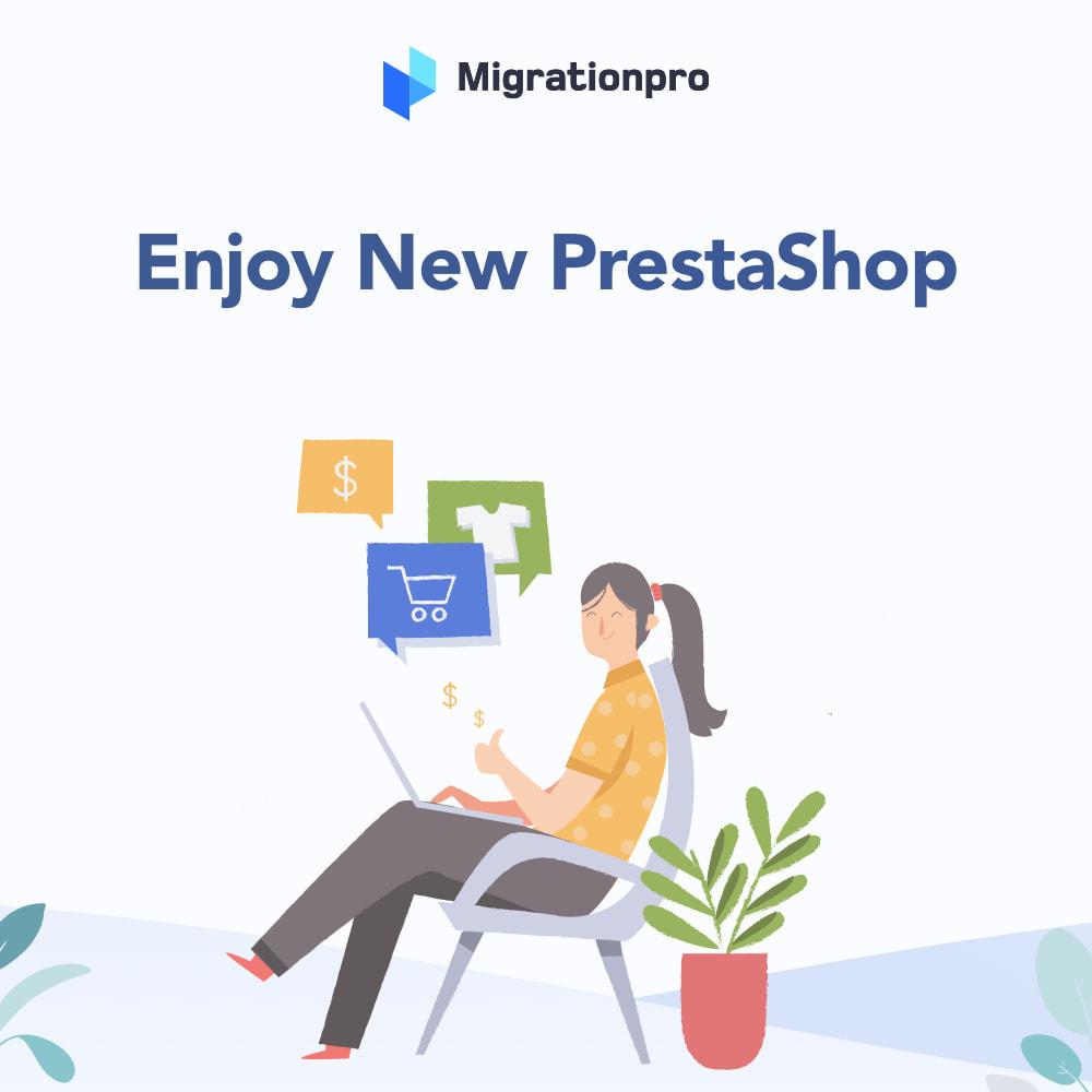 module - Data migration & Backup - MigrationPro: MijoShop to PrestaShop Migration Tool - 9