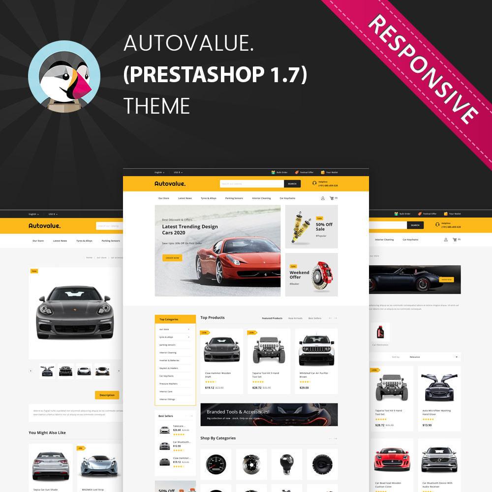 theme - Automotive & Cars - Autovalue - The Autoparts Store - 1