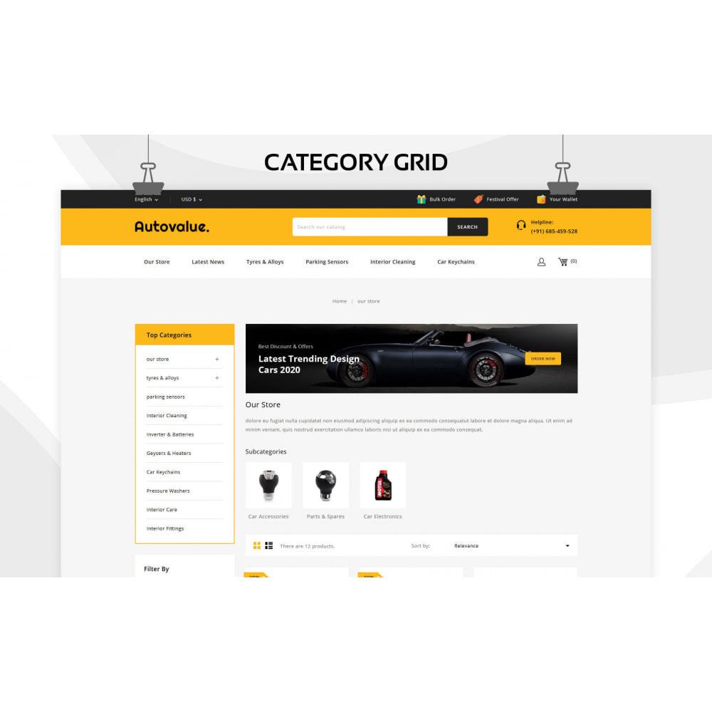 theme - Automotive & Cars - Autovalue - The Autoparts Store - 4