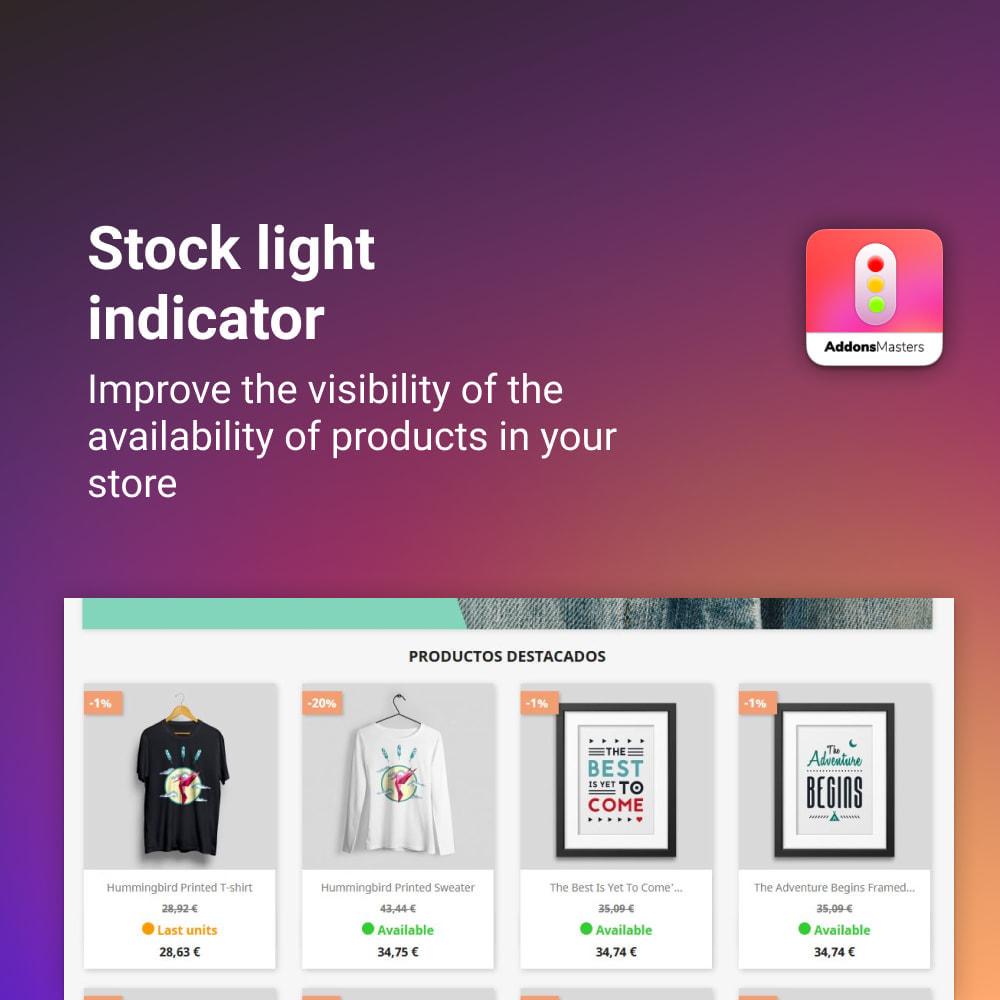 module - Stock & Supplier Management - STOCK LIGHT INDICATOR - 1