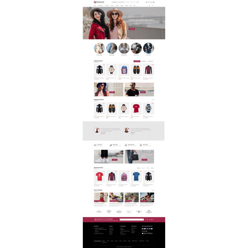 theme - Fashion & Shoes - Fashionclo - Minimal Fashion Store - 2