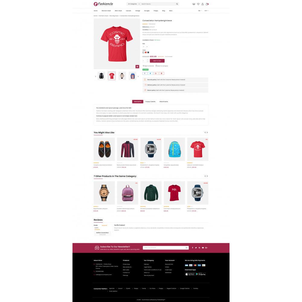theme - Fashion & Shoes - Fashionclo - Minimal Fashion Store - 5