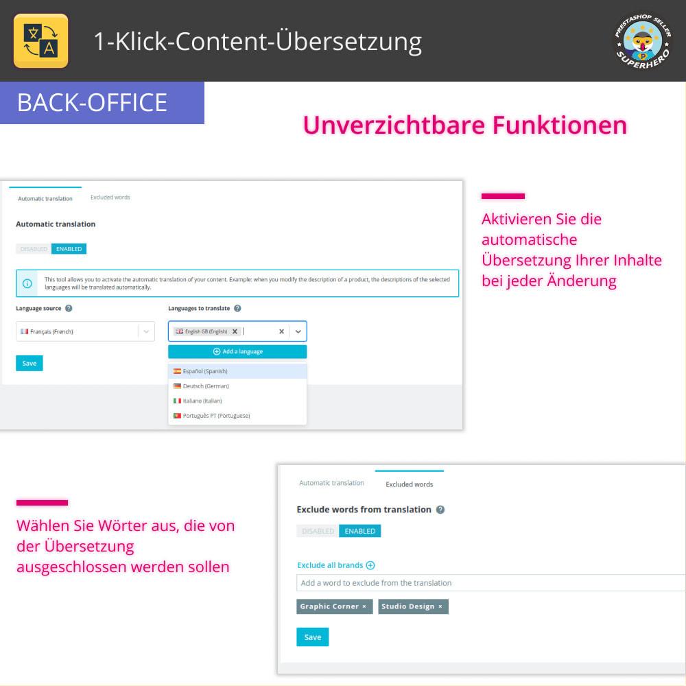 module - Internationalisierung & Lokalisierung - 1-Klick-Content-Übersetzung - 6