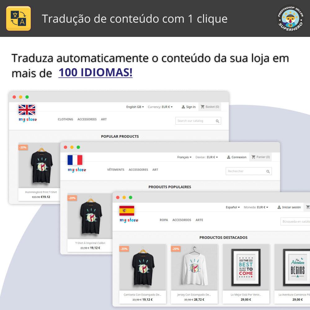 module - Internacional & Localização - Tradução de conteúdo com 1 clique - 1