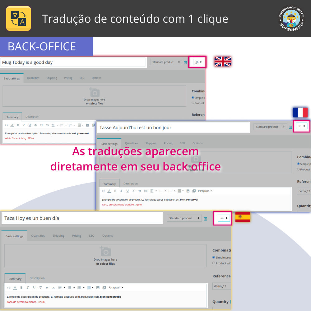 module - Internacional & Localização - Tradução de conteúdo com 1 clique - 5