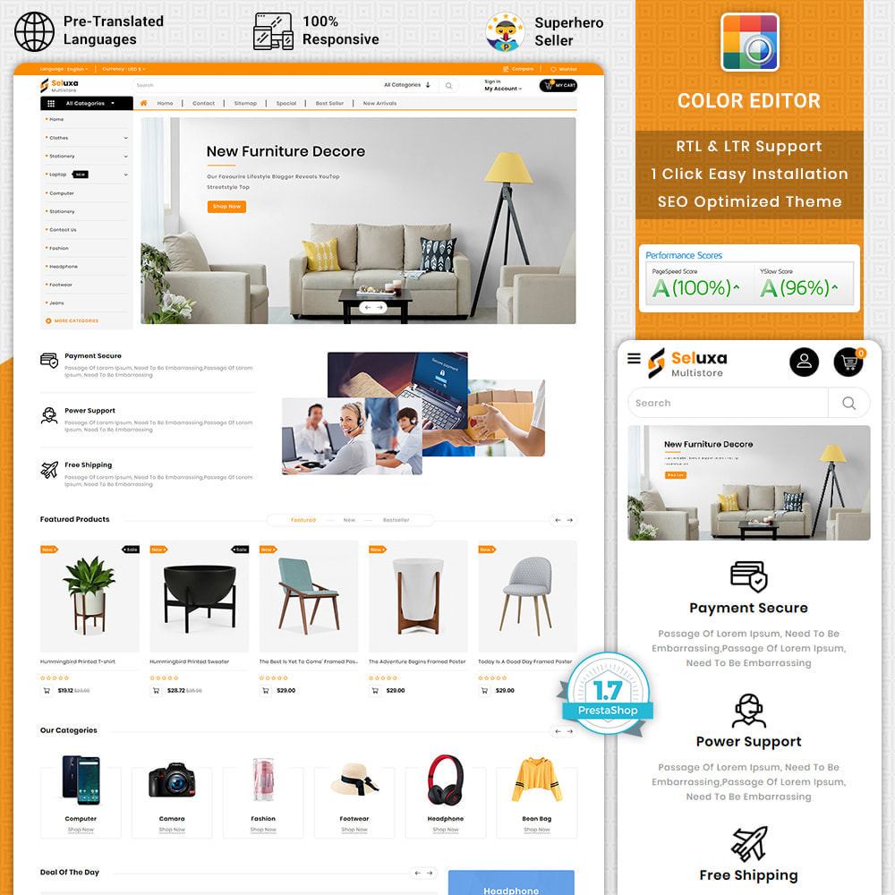 theme - Electronics & Computers - Sulexa - Multipurpose eCommerce Store - 1