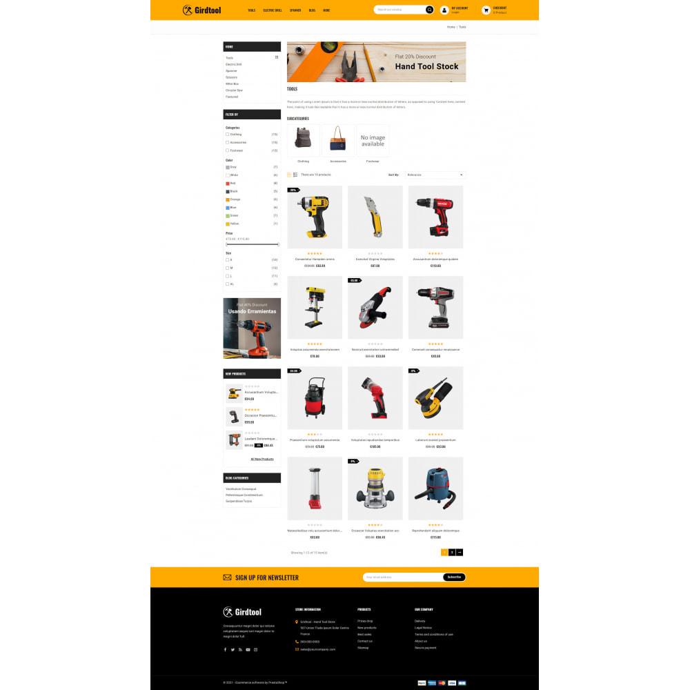 theme - Auto's & Motoren - Gridtool - Hand Tool Store - 3