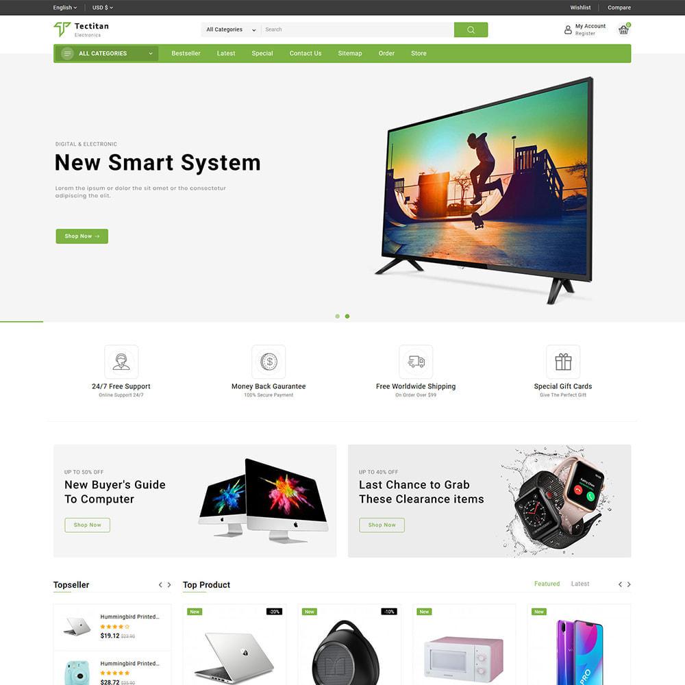 theme - Electrónica e High Tech - Teatitan - Electronics Ecommerce Multipurpose - 2