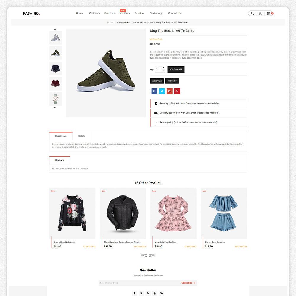 theme - Fashion & Shoes - Fashiro - Mega Fashion Trend Store - 4
