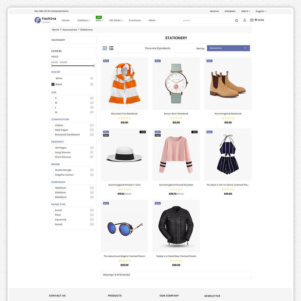 theme - Fashion & Shoes - Fashiva - Modern Fashion Store - 3
