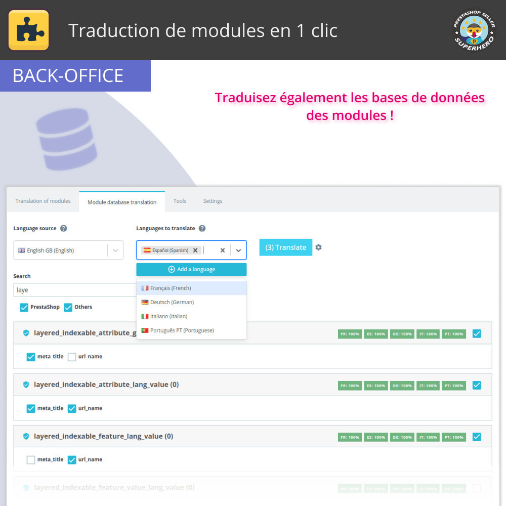 module - International & Localisation - Traduction de modules en 1 clic - 5