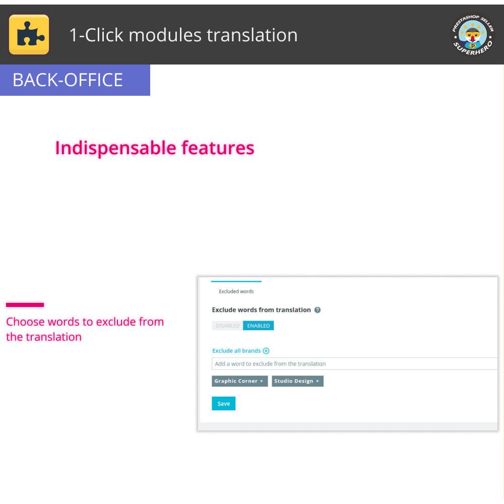 module - International & Localization - 1-Click modules translation - 6