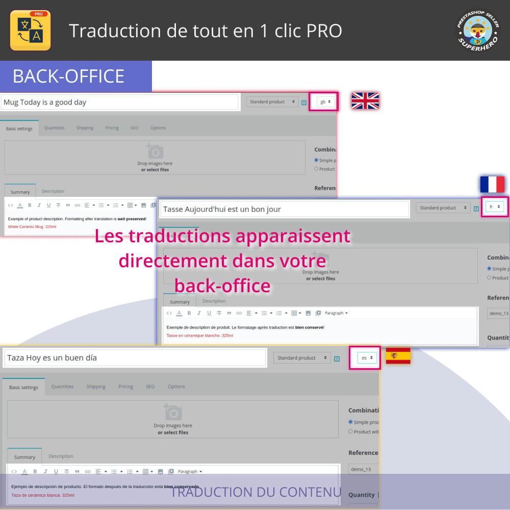 module - International & Localisation - Traduction de tout en 1 clic PRO - 5