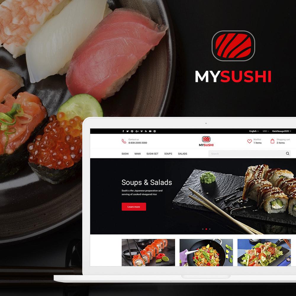 theme - Alimentation & Restauration - My Sushi - 1