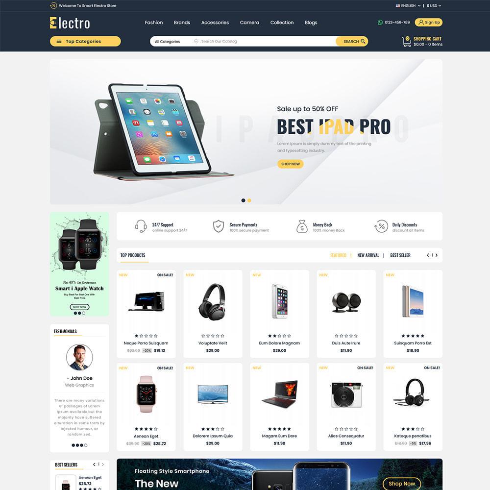 theme - Electronics & Computers - Alfa Electronic - Multipupose Store - 1