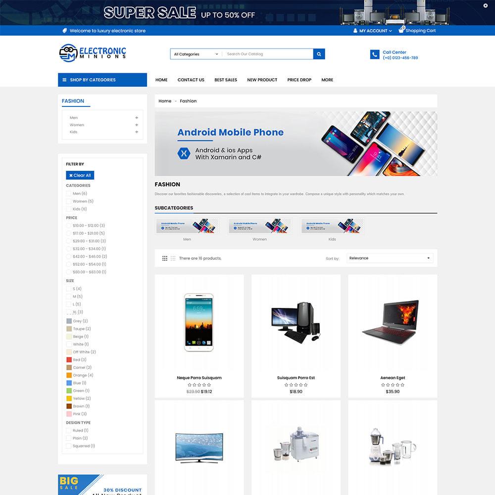 theme - Eletrônicos & High Tech - Metro Mega Electronics Multi Store - 2