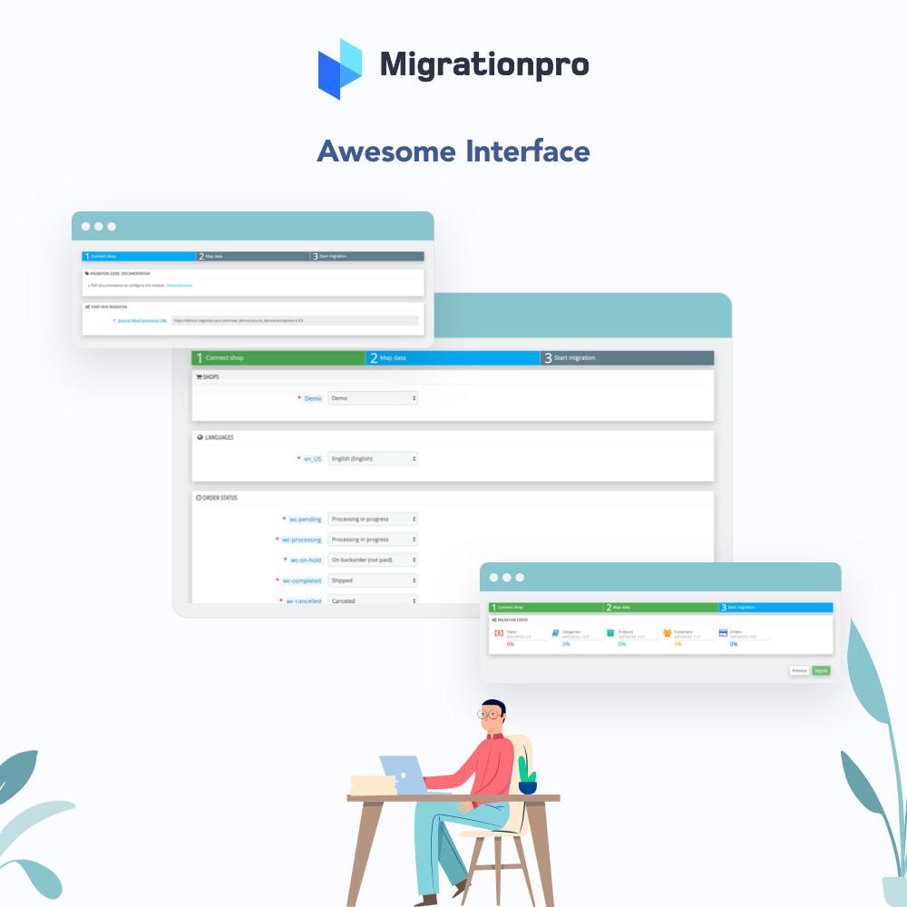 module - Migracja & Backup - MigrationPro: CubeCart to PrestaShop Migration tool - 6