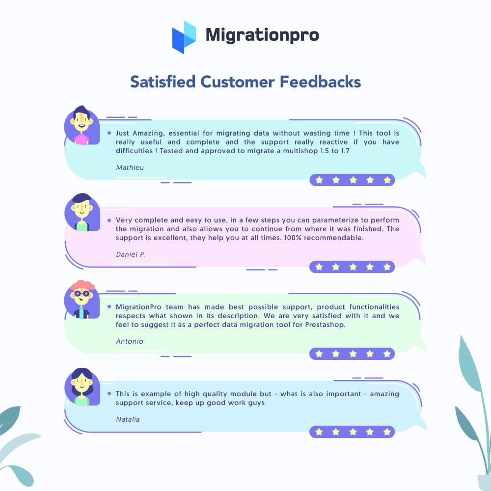 module - Migracja & Backup - MigrationPro: CubeCart to PrestaShop Migration tool - 9