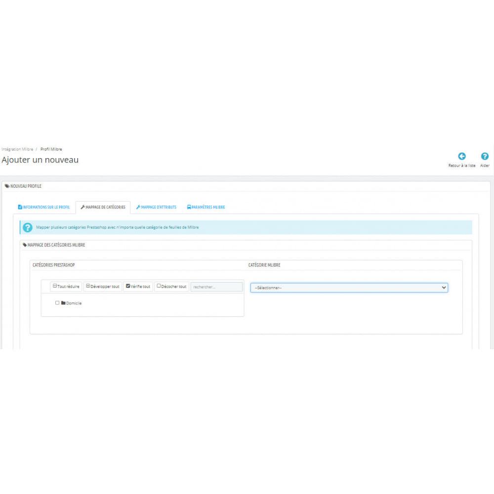 module - Connexion à un logiciel tiers (CRM, ERP...) - Intégration CedCommerce MercadoLibre - 7