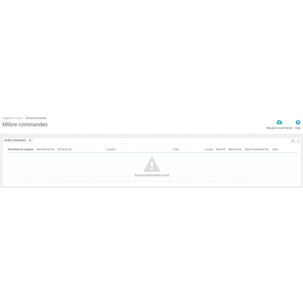 module - Connexion à un logiciel tiers (CRM, ERP...) - Intégration CedCommerce MercadoLibre - 11