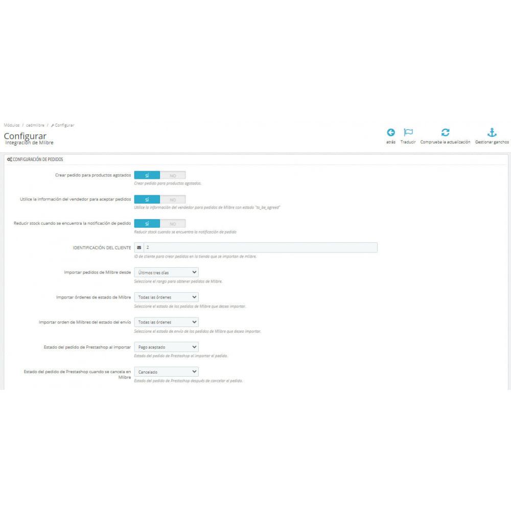 module - Integración con CRM, ERP... - CedCommerce MercadoLibre Integration - 3