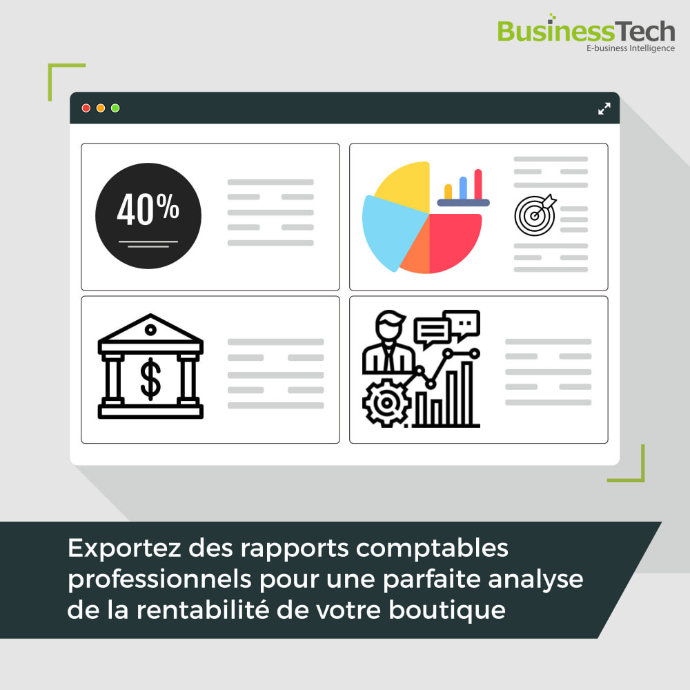 module - Analyses & Statistiques - Sales Reports Pro: Rapports ventes & Exports comptables - 1