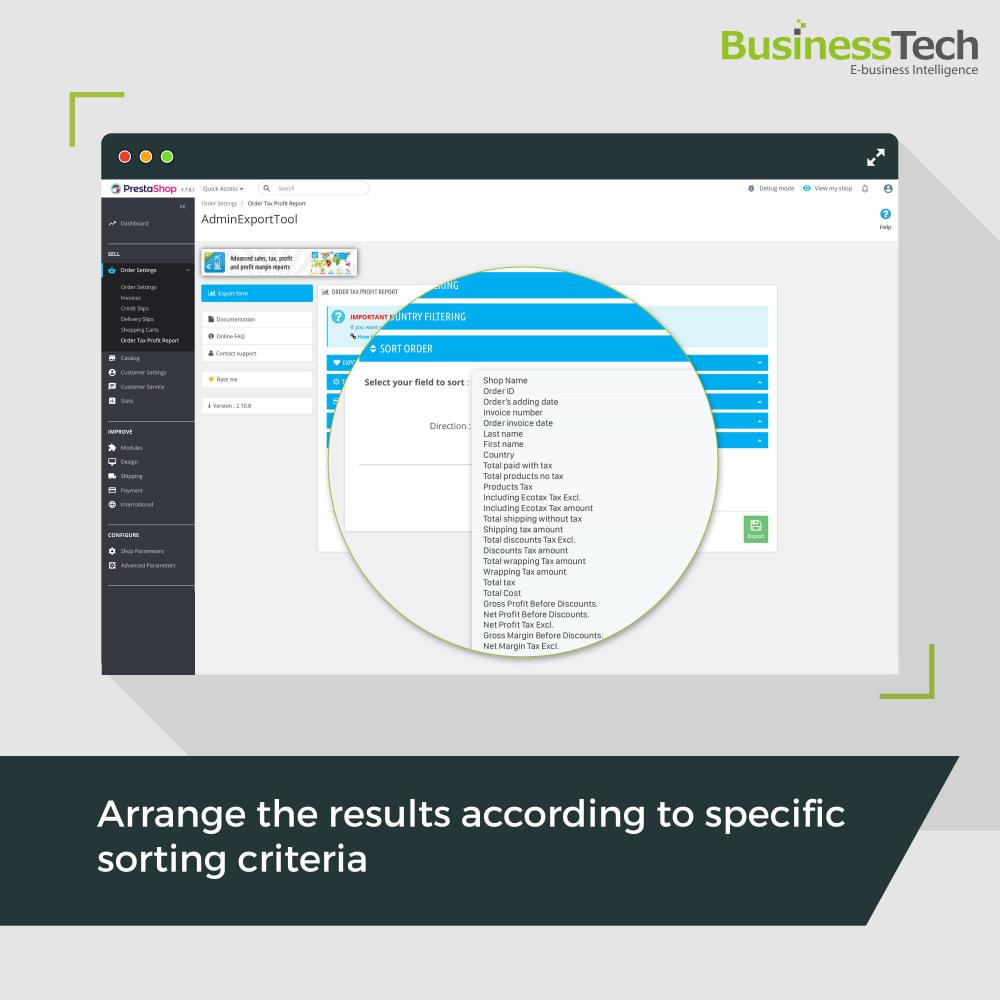 module - Статистика и анализ - Sales Reports Pro - Accounting Exports - 4
