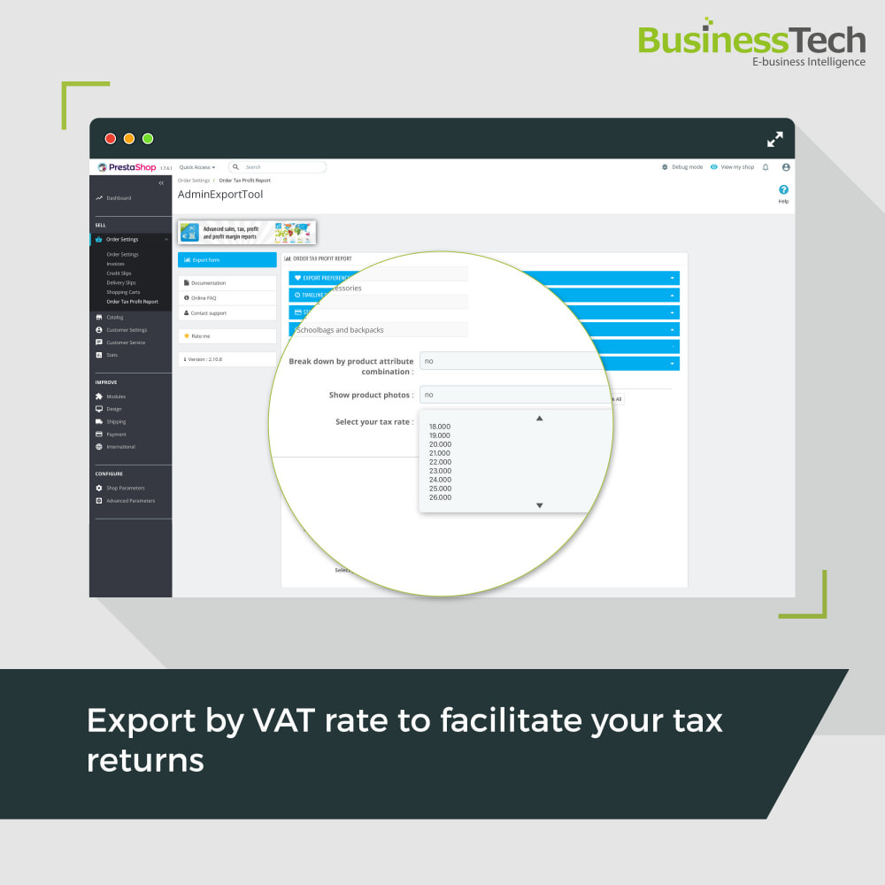 module - Статистика и анализ - Sales Reports Pro - Accounting Exports - 5