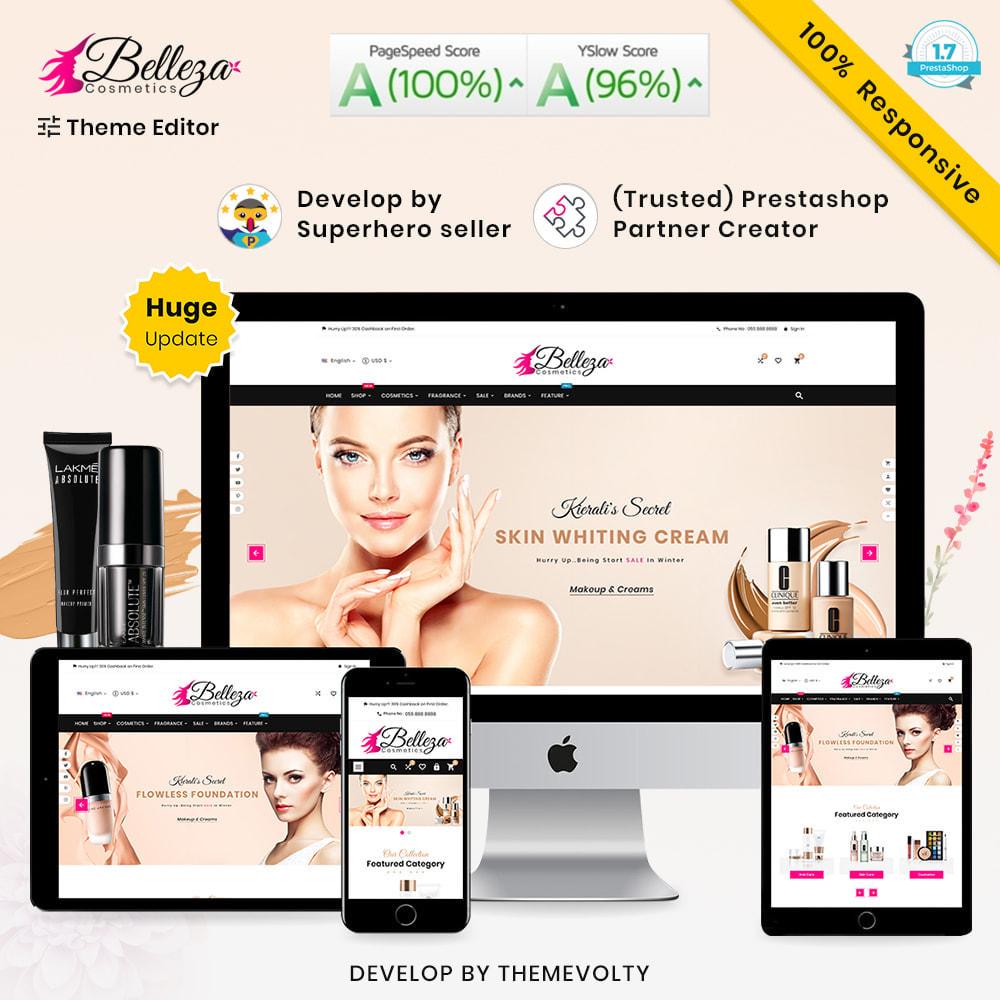 theme - Salud y Belleza - Belleza Mega Rico Belleza–cosméticos Salón Super Store - 2