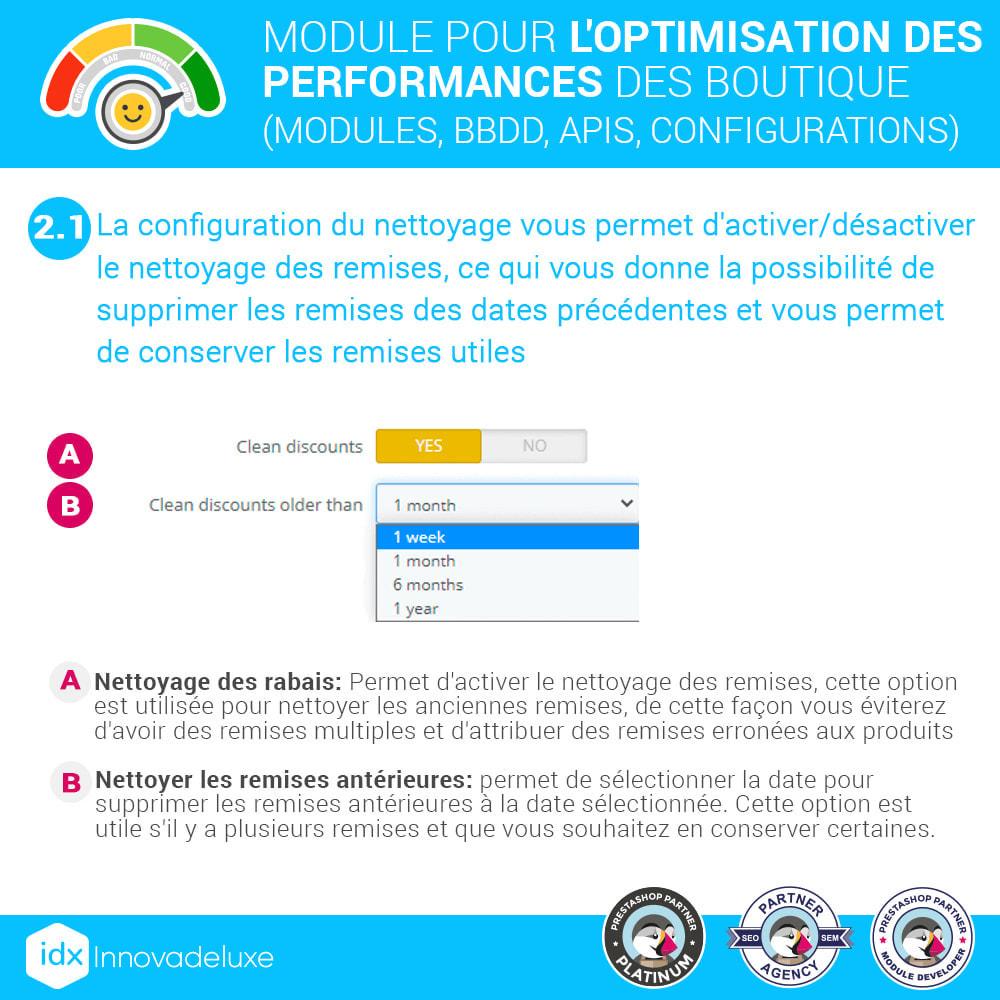 module - Performance du Site - Performance - Optimisation de la boutique - 5