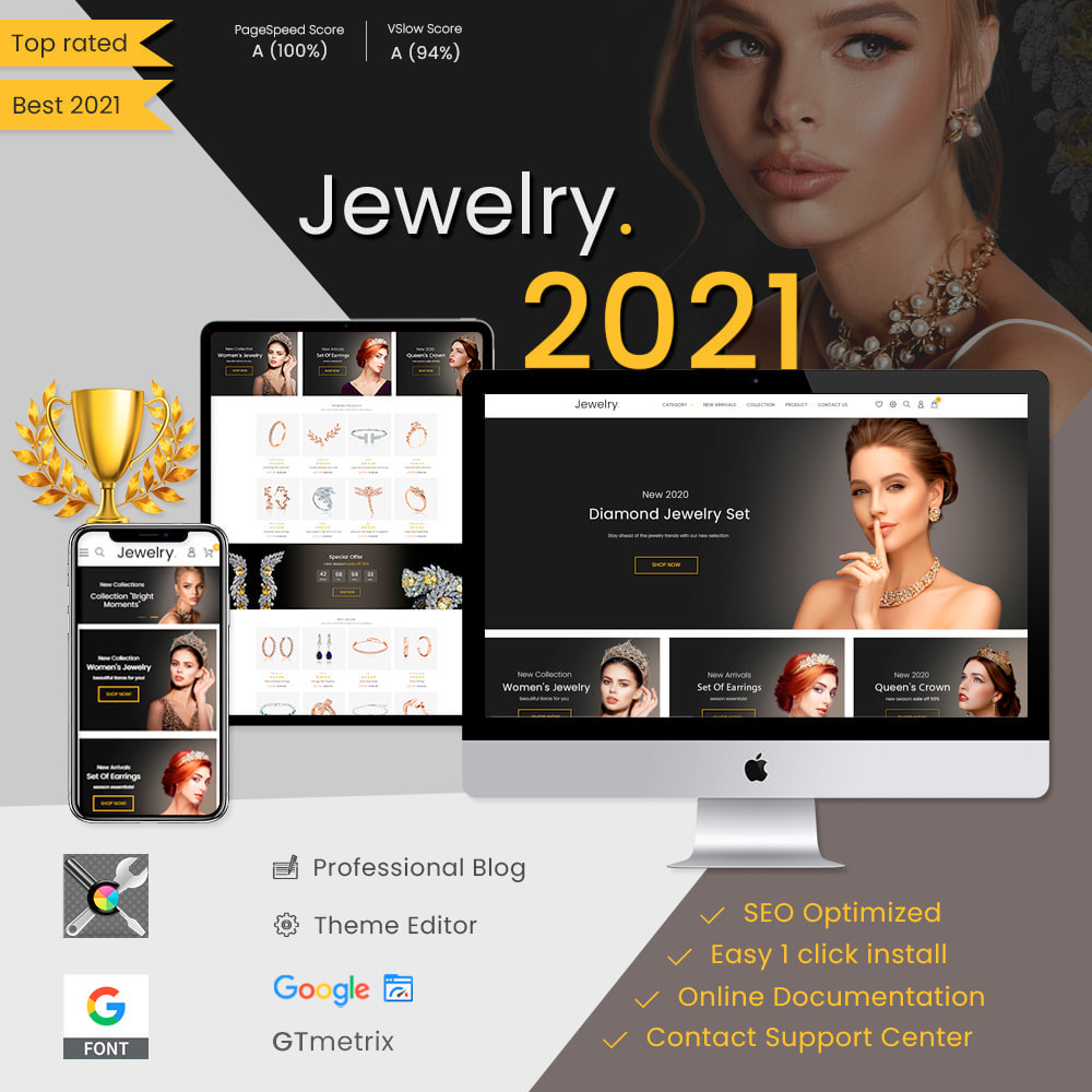 theme - Jewelry & Accessories - Jewelry & Accessories - Fashion, Watches, Design - 1